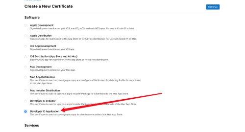 electron-notarize 进行签名与公证的详细步骤