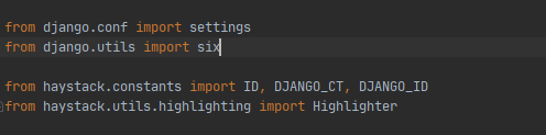 卑微程序员用Django 3.0.3 集成whoosh站内搜索竟遇到这种事 ImportError: cannot import name 'six' from 'django.utils'