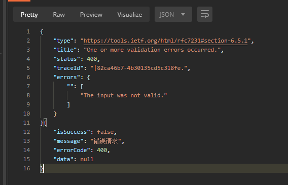 如何用json的格式来显示响应的json字符串