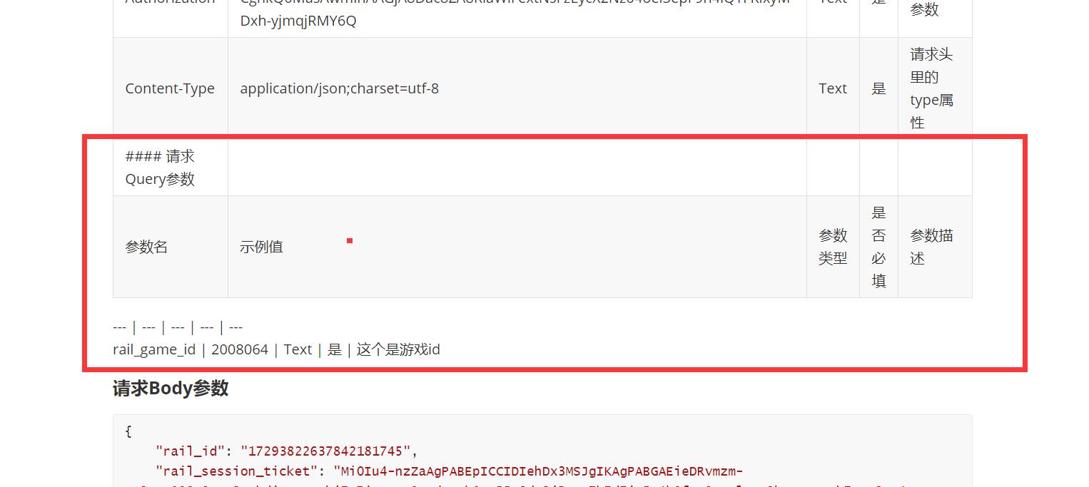 API生成的md文档,格式上面有问题
