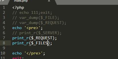 apipost选择文件类型参数上传获取不到
