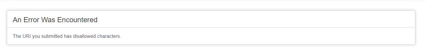 "post请求,因为地址中带?/,被转换成了参数,请求中加了""=""号,导致被框架拦截了"